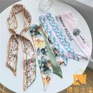 絲巾法式發帶女薄長條綁包絲帶韓國領巾頭巾裝飾圍巾【慢客生活】