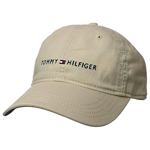 Tommy Hilfiger 湯米Dad棒球帽(石色)