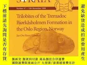 二手書博民逛書店Trilobites罕見of the Tremadoc Bjorkasholmen Formation in th