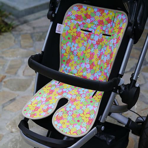 Baby Seater嬰兒專用涼感墊推車涼墊(粉紅甜心)+日本專利保冰袋【C&D宅一起】MIT台灣製☀饗樂生活