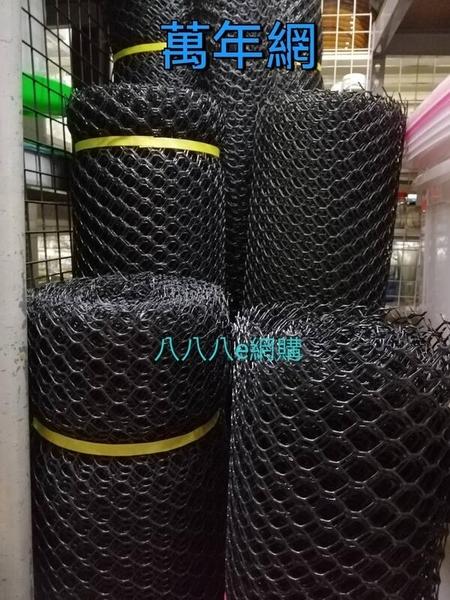 萬年網-寬4尺-長100尺~菱形網 萬年網 圍籬網 塑膠圍籬網 園藝圍籬網 塑膠隔網《八八八e網購