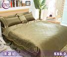 【Jenny Silk名床】歐風尊貴.100%純蠶絲布.標準雙人床罩組全套.全程臺灣製造