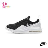 NIKE童鞋 男童女童運動鞋 氣墊鞋 休閒運動鞋 跑步鞋 AIR MAX MOTION P7262#黑白◆OSOME奧森鞋業
