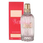 【美麗魔】L'occitane歐舒丹 玫瑰皇后淡香水75ml