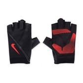 Nike Havoc Training Gloves [NLGB6053XL] 男 自行車 重量 動態 訓練 手套 黑紅