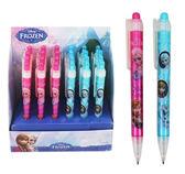 【卡漫城】 冰雪奇緣 原子筆 4隻組 ㊣版 Frozen 艾莎 Elsa 安娜 藍色墨水 雪寶 Olaf 台灣製
