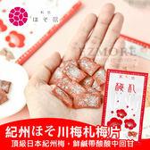 日本 紀州ほそ川 梅札 14g 梅片 梅子 紀州梅片新款  軟糖 梅干片 梅子片 日本製造