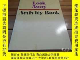二手書博民逛書店LOOK罕見AWAY, ACTIVITY BOOKY20470