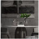 花瓶 現代北簡歐插花瓶玻璃透明大號水培富貴竹擺件設 客廳創意裝飾品 名創家居館DF