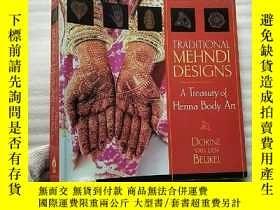 二手書博民逛書店TRADITIONAL罕見MEHNDI DESIGNS A Treasury of Henna Body Art