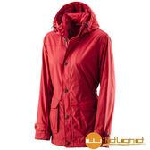 荒野 Wildland 女 絲絨防潑防風保暖外套 『紅色』A22911