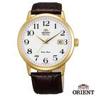 ORIENT東方錶 英倫風尚自動上鍊機械腕錶-白x41mm FER27005W0