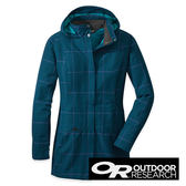 Outdoor Research DECIBELLE 女 防風保暖外套『海藍/紫格紋』|保暖外套 90945