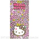 凱蒂貓 Kitty 豹紋浴巾 ~DK襪子毛巾大王