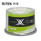 【RiTEK錸德】 16X DVD-R 桶裝 4.7GB X版 50片/組