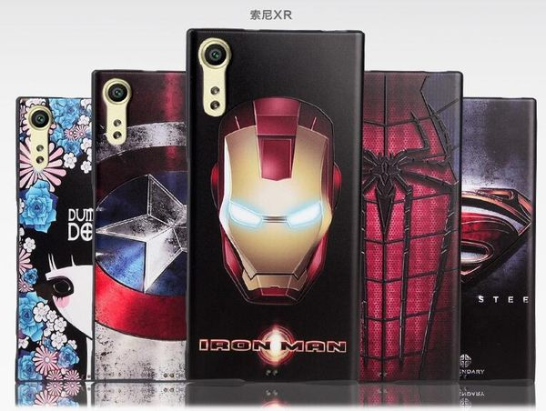 【SZ22】Sony Xperia XZ 手機殼 3D客製黑邊浮雕 sony xz 手機殼 防摔殼 F8332 保護殼 軟殼