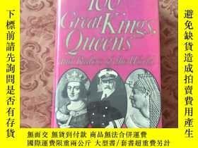 二手書博民逛書店100Great罕見Kings Queens and Ruler