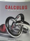 【書寶二手書T9/大學理工醫_QXH】Calculus-an applied approach_Ron Larson,