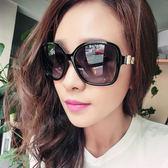 太陽鏡女潮新款墨鏡開車潮圓臉復古框眼鏡防紫外線  初語生活