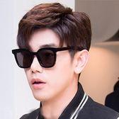 現貨-權志龍GD墨鏡紅框鬼怪孔侑井柏然同款海洋片太陽鏡眼鏡個性男 282
