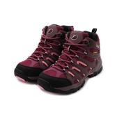 GOODYEAR 野外探索高筒戶外登山鞋 酒紅 GAWO92552 女鞋 鞋全家福