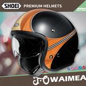 [安信騎士] 日本 SHOEI J.O 彩繪 WAIMEA TC-10 棕黑 半罩 安全帽 復古帽