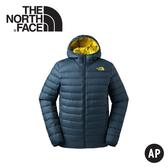 【The North Face 男 雙面兜帽羽絨外套《藍》】3KTE-VB5/保暖外套/連帽外套/戶外登山