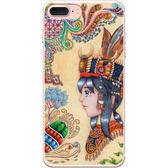 設計師版權【排灣女孩】系列:TPU手機保護殼(iPhone、ASUS、LG、小米)