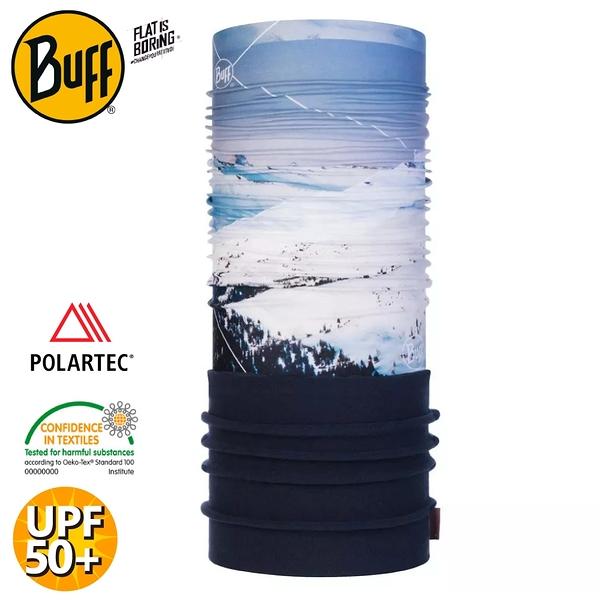 【BUFF 西班牙 POLAR保暖頭巾 Plus 《白朗峰》】120916/圍脖/帽子/口罩/圍巾/快乾透氣