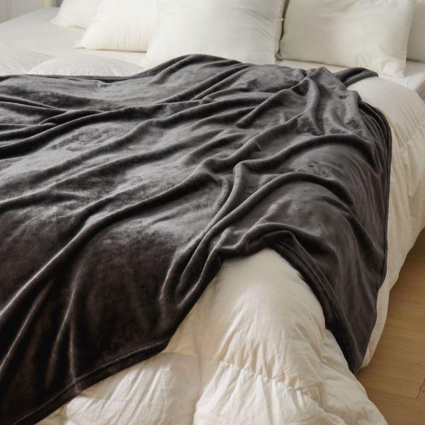 【金‧安德森】法蘭絨素色隨意毯