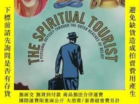 二手書博民逛書店大32開英文原版罕見The spiritual touristY