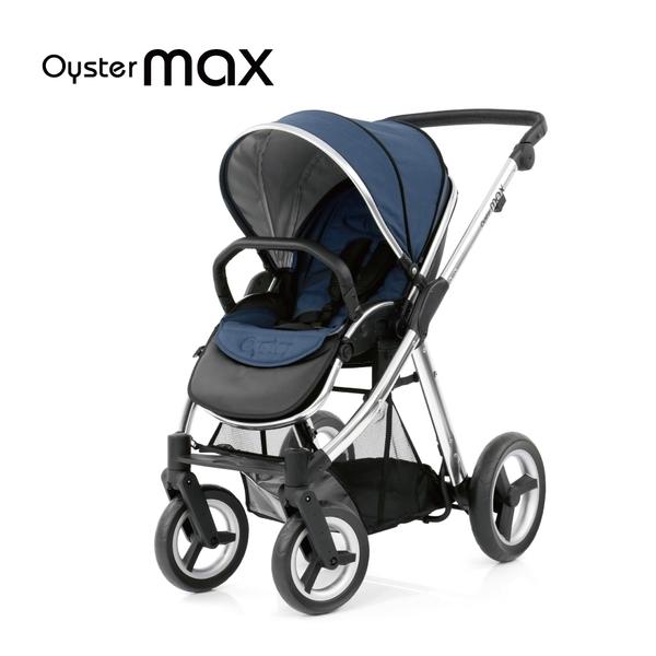 英國Oyster max雙子星嬰幼兒手推車-牛津藍 M-006102013-00-FF