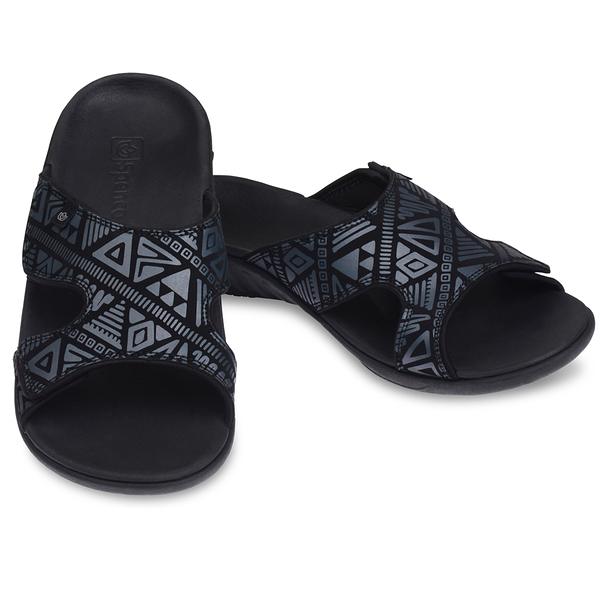 《Spenco》TRIBAL SLIDE 女 涼拖鞋 黑色 SF39-868