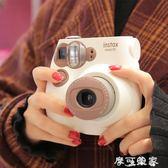 拍立得Fujifilm/富士Instax mini7S熊貓/7C咖啡色拍立得相機 套餐含相紙 igo摩可美家