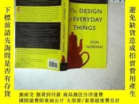 二手書博民逛書店THE罕見DESIGN OF EVERYDAY THINGS 日常用品的設計 大32開 01Y261116