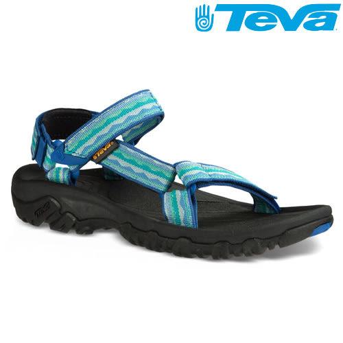 TEVA 熱銷《女款》經典織帶水陸機能運動涼鞋Hurricane XLT - 湖水藍