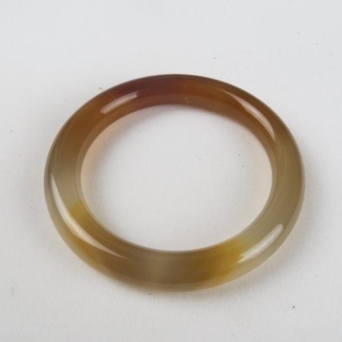 天然黃玉髓手鐲#1890 56.6mm