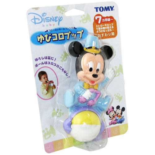 【奇買親子購物網】Tomy Disney Baby-米奇寶寶吹哨