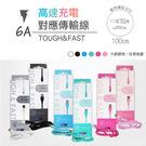 台灣製造 高速水管線 Micro USB 充電/傳輸線 6A 快速充電 快充 HTC ASUS SAMSUNG 1M