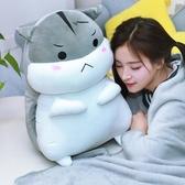(快出)倉鼠毛絨玩具抱枕公仔布娃娃玩偶女睡覺床上超萌布偶