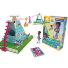 《 GoldieBlox 》盧比高空纜車 ╭★ JOYBUS玩具百貨