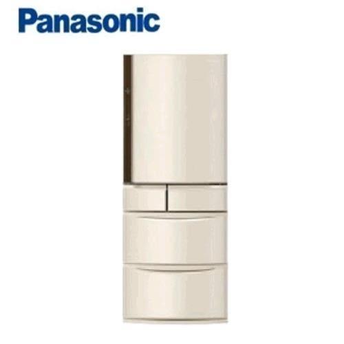 Panasonic  日本鐵板進口411L五門冰箱 NR-E412VT-N1E(香檳金)