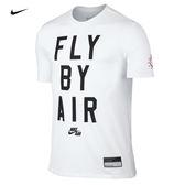 (現貨) NIKE AIR FLY BY 短袖T恤 822649-100 白色短T 白TEE  (平日天天出貨)
