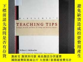 二手書博民逛書店MCKEACHIES罕見TEACHING TIPSY239696 MCKEACHIES HOUUGHTON M