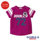 DOUBLE_B 日本製 大數字短袖T恤...