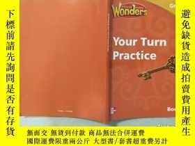 二手書博民逛書店Wonders罕見Your Turn Practice Grade3Y332659