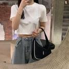 ins超火白色短袖t恤女夏季新款韓版潮修身顯瘦露肚臍學生短款上衣 非凡小鋪