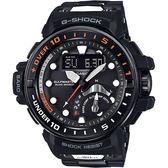 CASIO卡西歐 G-SHOCK MASTER 海軍進階版太陽能電波手錶-橘 GWN-Q1000MC-1A / GWN-Q1000MC-1ADR