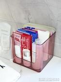 透明化妝品收納盒面膜盒子桌面神器家用宿舍護膚置物架裝放的筐小凱斯盾數位3C