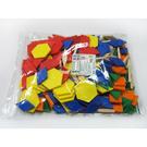 《 USL遊思樂教具 》六形六色板 ( 實心 250 PCS ) / JOYBUS玩具百貨